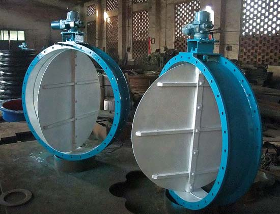 round air duct volume control damper