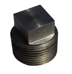 Square tube plug