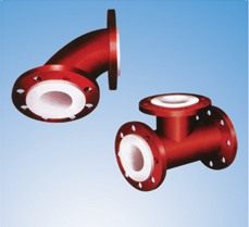 Anti-corrosion pipe fittings (lining plastic pipe fittings)